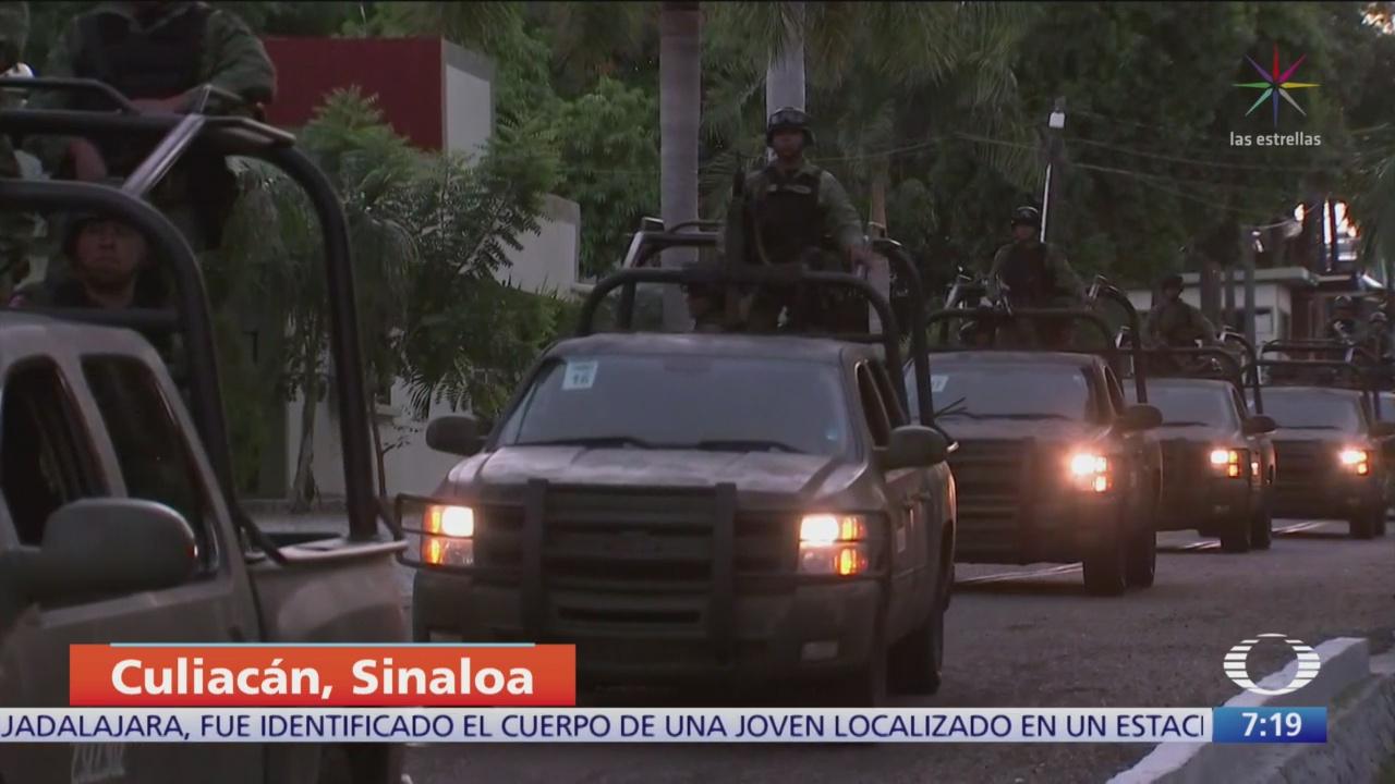 Habitantes de Culiacán se reincorporan a sus actividades