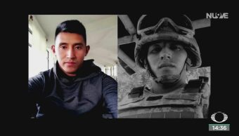FOTO: Homenaje Elemento Guardia Nacional Que Falleció Culiacán