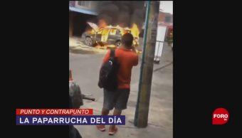Foto: Imágenes Falsas Violencia Culiacán Paparrucha Día 18 Octubre 2019