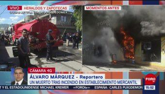 FOTO: Incendio Ecatepec deja un muerto
