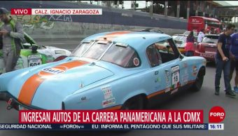 FOTO: Ingresan autos de la Carrera Panamericana a la CDMX, 12 octubre 2019