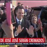 FOTO: José Joel, hijo de José José, confirma que el intérprete será cremado, 6 octubre 2019