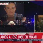 FOTO: José José será incinerado en Miami, 6 octubre 2019