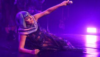 Foto: La cantante Lady Gaga en el escenario durante un concierto en la ciudad de Nueva York, 18 octubre 2019