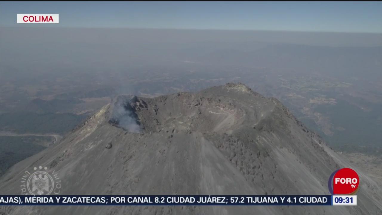 FOTO: Lahares modifican dimensiones de barranca en Volcán de Colima, 27 octubre 2019