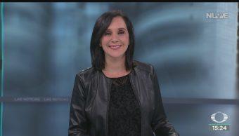 FOTO: Noticias Karla Iberia Programa Completo 17 Octubre