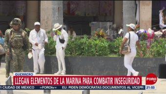 FOTO: Llegan elementos de la Marina para reforzar vigilancia en Acapulco, 5 octubre 2019