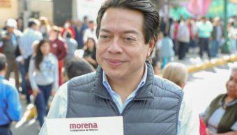 Mario Delgado busca la dirigencia de Morena.