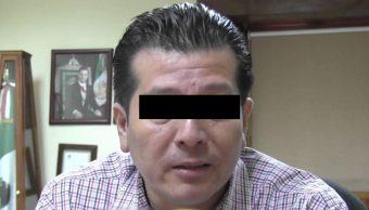 """Foto: Detienen a extesorero de Roberto Sandoval en Nayarit, Mario """"N"""", 20 octubre 2019"""