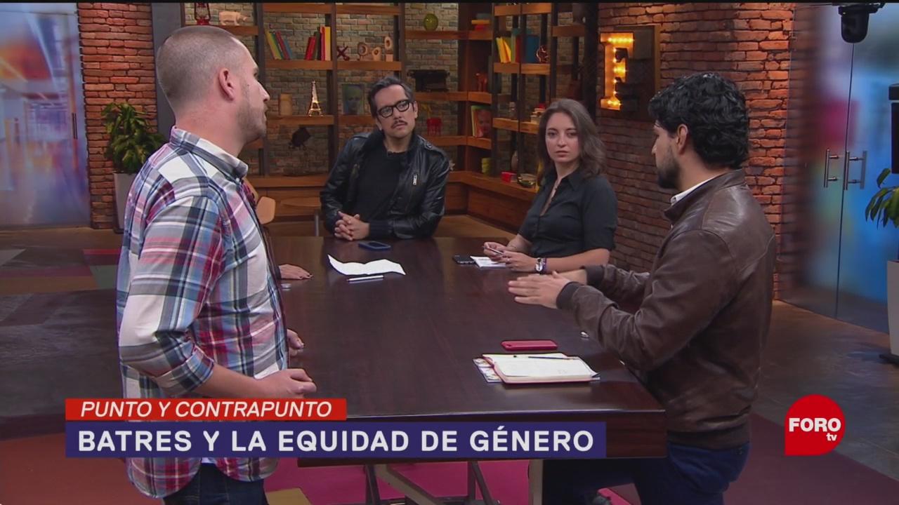 Foto: Martí Batres Abre Debate Igualdad Género 17 Octubre 2019