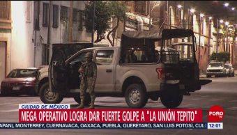 Mega operativo en CDMX da golpe a 'La Unión Tepito'