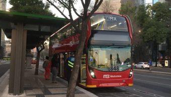 """Foto: El anuncio señala que podría haber cambios """"sin previo aviso"""", 18 de octubre de 2019, (Twitter @MetrobúsCDMX)"""