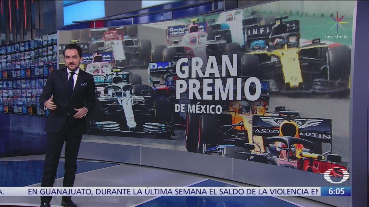 México vivió la fiebre del Gran Premio de la Fórmula 1