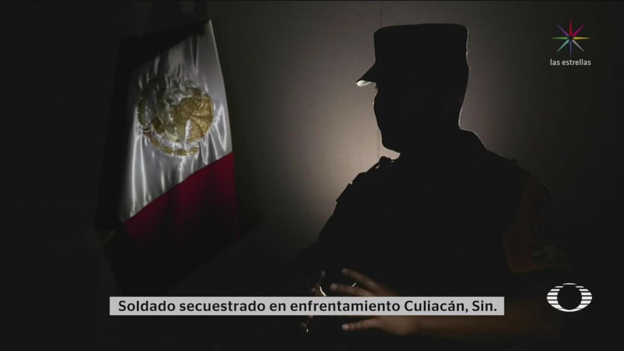 Foto: Militar Narra Cómo Ofreció Rehén Culiacán 31 Octubre 2019