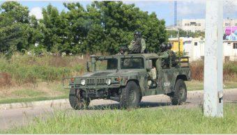 Foto: Se refuerzan medidas de seguridad tras violencia en Sinaloa, 20 de octubre de 2019 (SSP de Sinaloa)