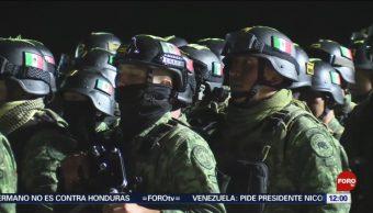 FOTO: Militares refuerzan seguridad en Culiacán tras balaceras, 19 octubre 2019