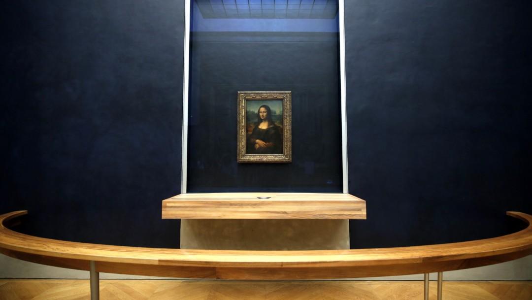 Foto: La Mona Lisa, 8 de octubre de 2019, Francia