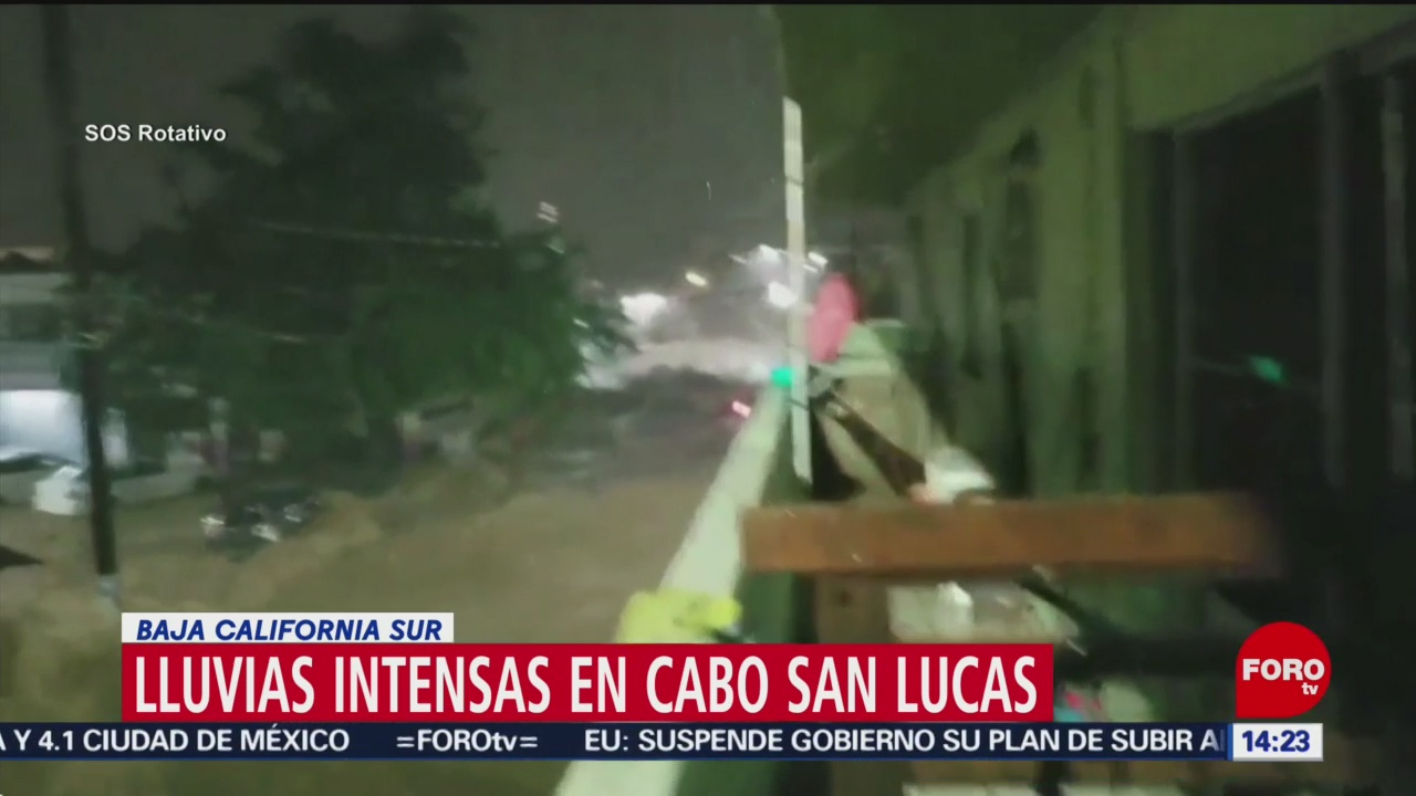 FOTO: Muere mujer tras ser arrastrada por la corriente en Cabo San Lucas, 13 octubre 2019