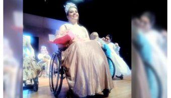 Foto: Mujer chiapaneca gana el certamen 'Señorita Silla de Ruedas', 21 de octubre de 2019, Veracruz