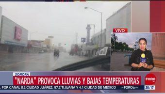 Foto: Narda Provoca Bajas Temperaturas Sonora 1 Octubre 2019