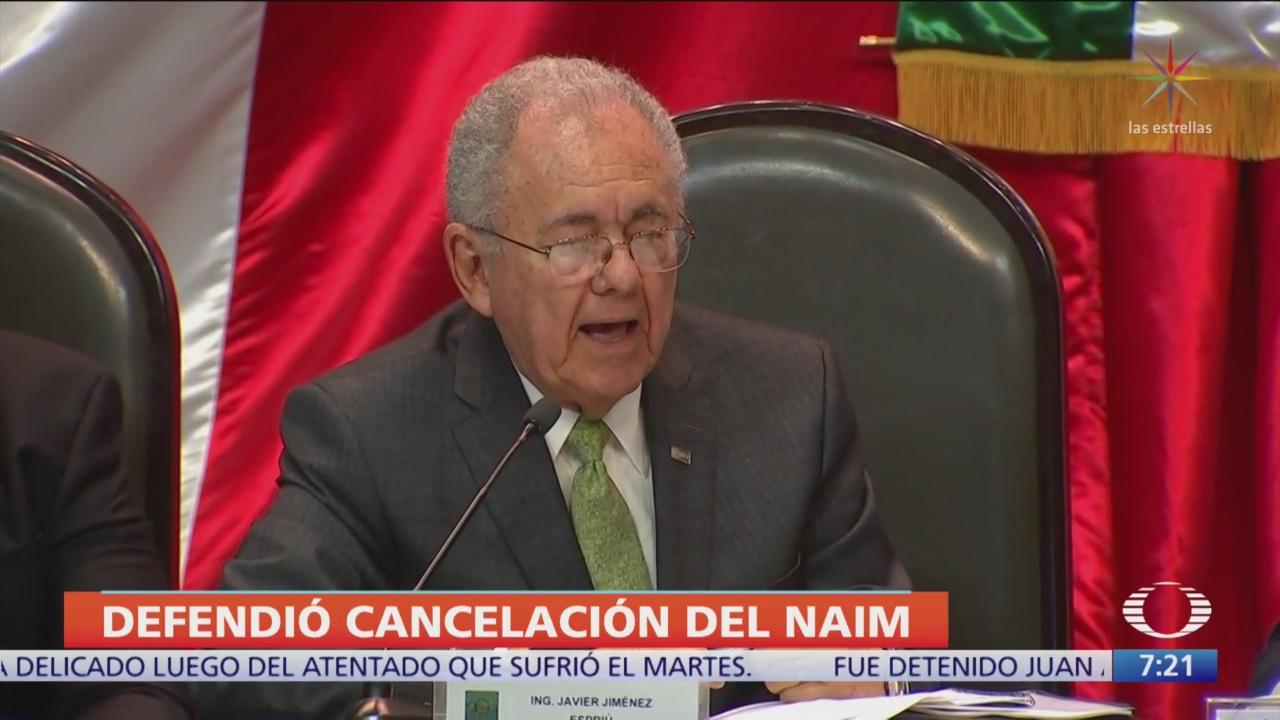 No fue capricho cancelar aeropuerto de Texcoco, dice Espriú
