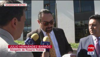 Ordenan reponer procedimiento de Rosario Robles