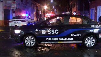 FOTO Padre quema y acuchilla a sus seis hijos, en la CDMX; una murió y 5 están graves (Noticieros Televisa)