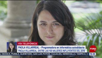 FOTO: Paola Villarreal Entre 100 Mujeres Más Influyentes Mundo 2019
