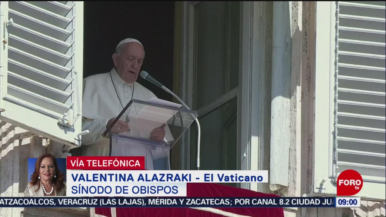 FOTO:Papa Francisco inaugura el Sínodo de Obispos dedicado al Amazonas, 6 octubre 2019