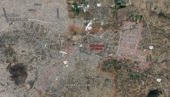 IMAGEN Pasajero mata a asaltantes dentro de microbús en Chicoloapan (Google Maps)