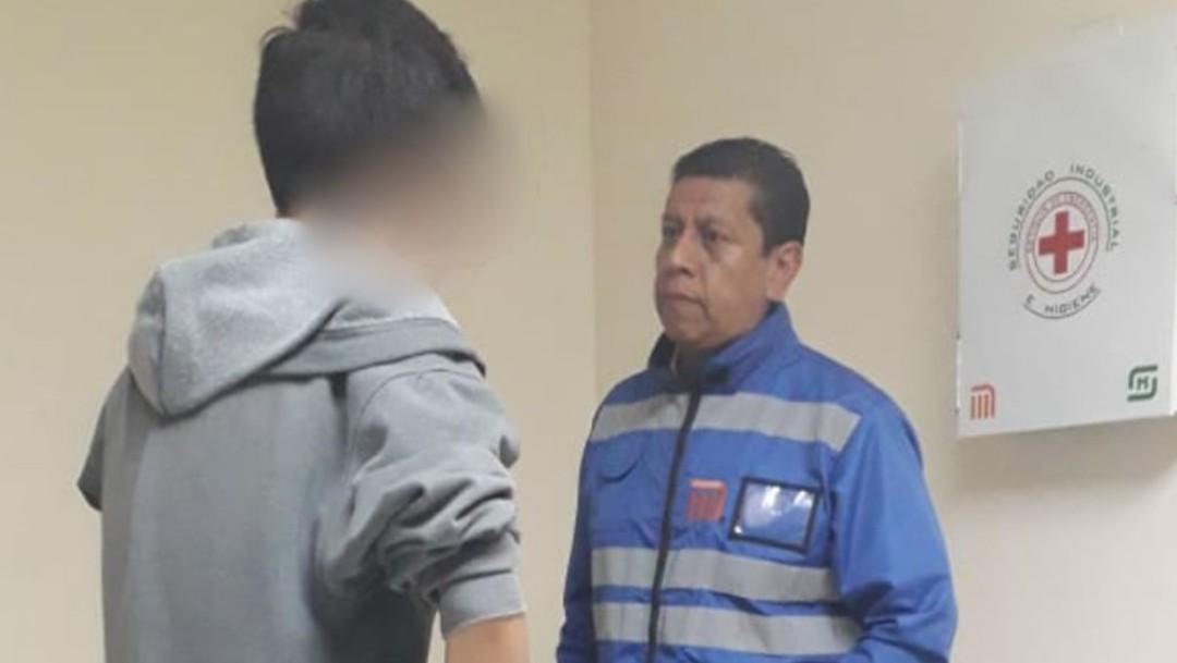 Foto Personal del Metro CDMX evita que joven se suicide en Línea 12