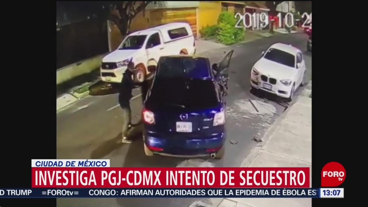 FOTO: PGJCDMX investiga intento secuestro Lindavista CDMX