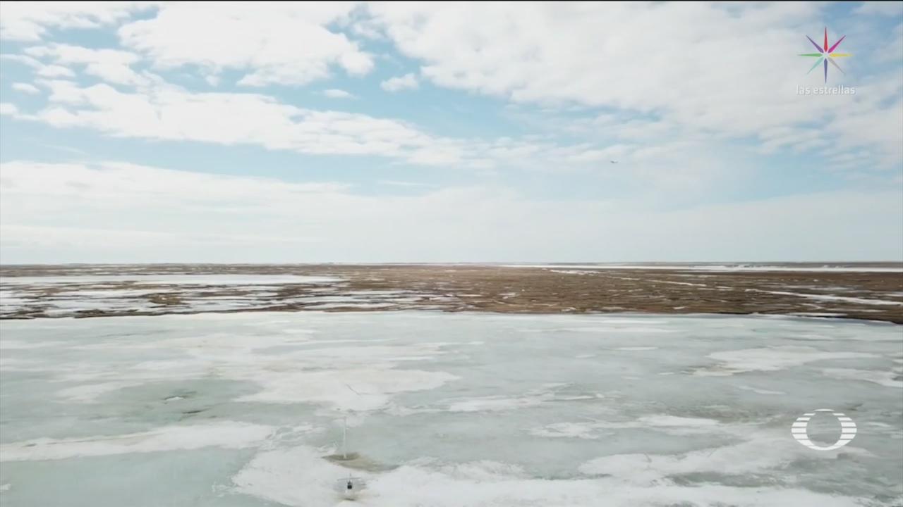 Foto: Plan Detener Derretimiento Hielo Ártico 29 Octubre 2019