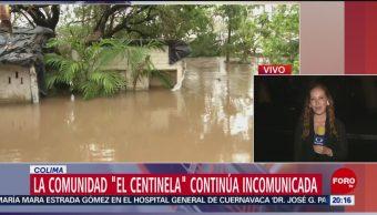 Foto: Poblaciones Incomunicadas Colima Narda 1 Octubre 2019