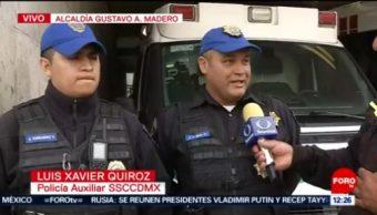 Policías CDMX apoyan a mujer en labor de parto a bordo de auto