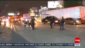 Foto: Policías Federales Liberan Circuito Interior hOY 4 Octubre 2019