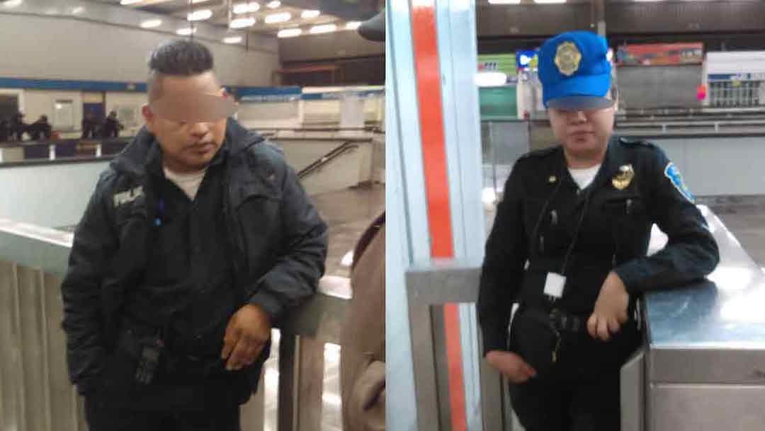 Foto Detienen a policías por robar boletos del Metro 18 octubre 2019