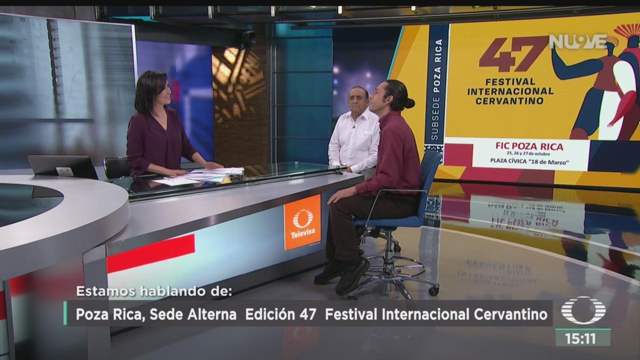 FOTO: Poza Rica Sede Alterna Festival Internacional Cervantino