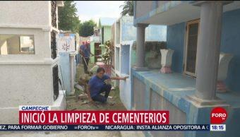 FOTO: Preparativos para celebración Día Muertos Campeche