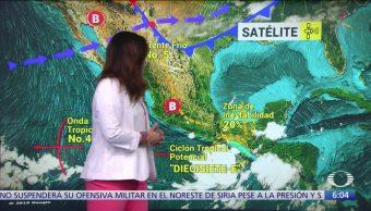 Prevén lluvias muy fuertes en oriente, sur y sureste de México