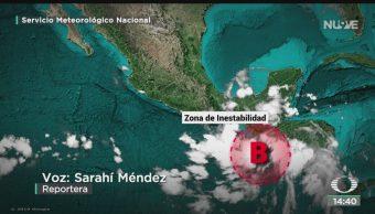 FOTO: Prevén Lluvias Por Zona Inestabilidad Oaxaca Chiapas