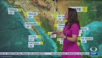 Pronostican lluvias de diferente intensidad en México