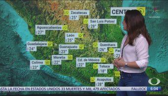 Pronostican lluvias intensas en Nayarit, Jalisco, Colima, Michoacán y Guerrero