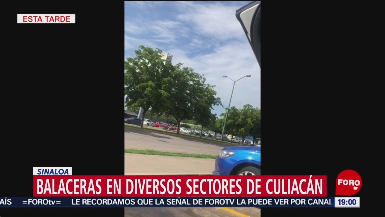 Foto: Video Balaceras Culiacán Sinaloa Hijo Chapo Octubre Ovidio 17 Octubre 2019