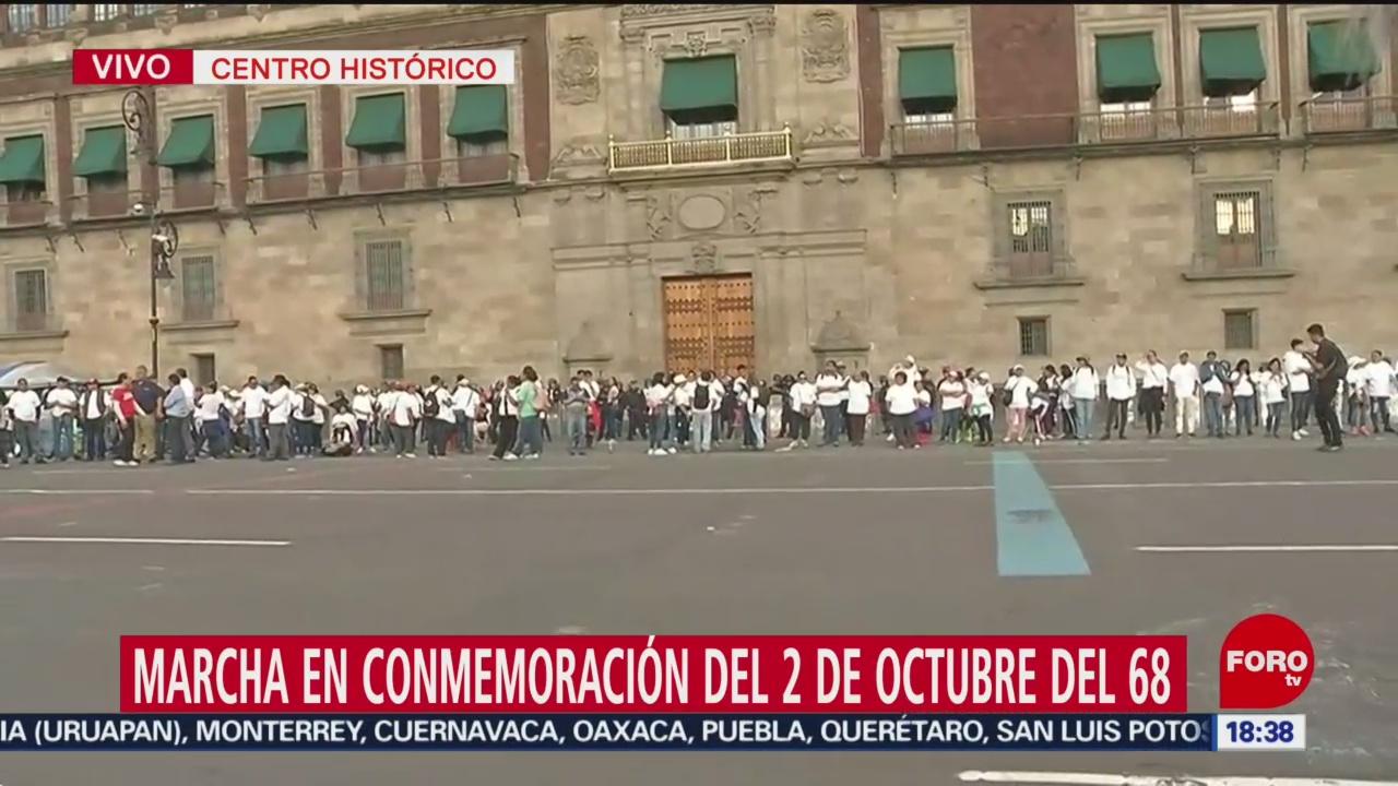 FOTO: Realizan Mitin Después Marcha 2 De Octubre