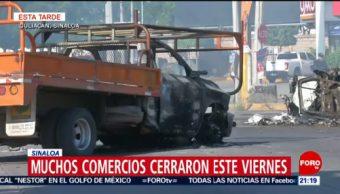 Foto: Regresa Calma Culiacán Tras Balacera Hoy 18 Octubre 2019
