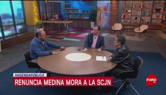 FOTO: Renuncias de Medina-Mora y Jesús Orta, 6 octubre 2019