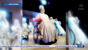 Representante de Chiapas gana concurso 'Señorita silla de ruedas'