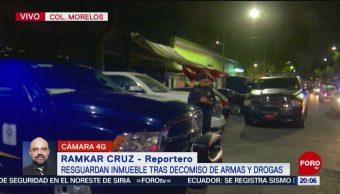 Foto: Tepito Decomiso Armas Drogas Hoy 22 Octubre 2019