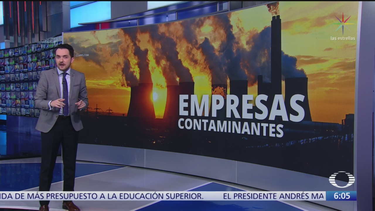 Revelan lista de petroleras contaminantes